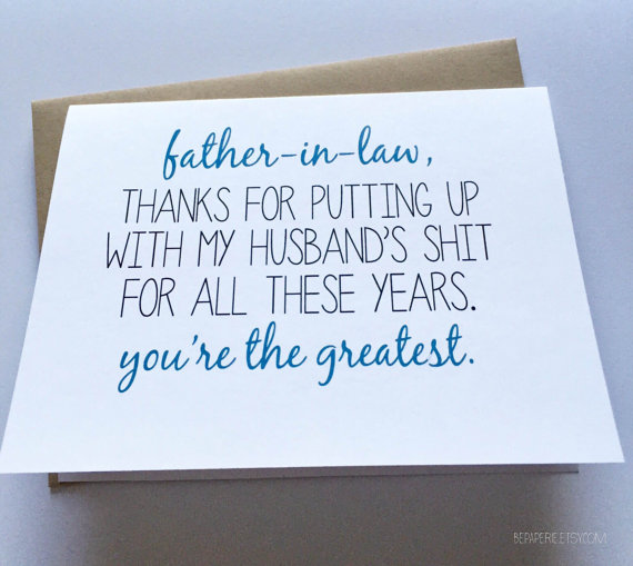 father in law card